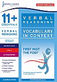 11+ Essentials - Vocabulary in Context  Level 3 (First Past the Post®)