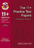 CGP 11+ Practice Test Papers for the CEM Test - Pack 1