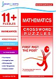 11+ Puzzles - Mathematics Crossword Puzzles Book 1 (First Past the Post®)