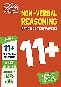 Letts - 11+ Non-Verbal Reasoning Practice Test Papers - Multiple-Choice: For The Gl Assessment Tests: Book 2