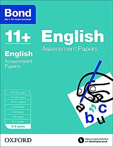 Bond 11+ Assessment Papers English 5-6 Years
