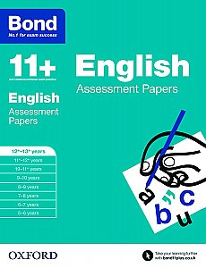 Bond 11+ Assessment Papers English 12+-13+ Years