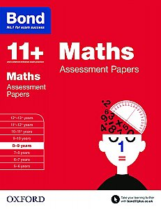 Bond 11+ Assessment Papers Maths 8-9 Years