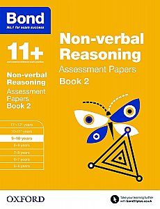 Bond 11+ Assessment Papers Non-verbal Reasoning 9-10 Book 2