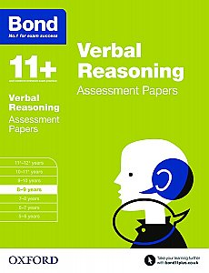 Bond 11+ Assessment Papers Verbal Reasoning 8-9 Years