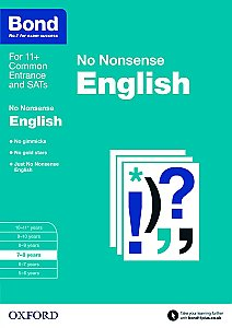 Bond No Nonsense English 7-8 Years