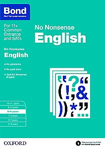 Bond No Nonsense English 8-9 Years