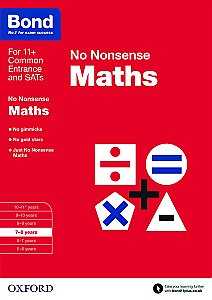 Bond No Nonsense Maths 7-8 Years