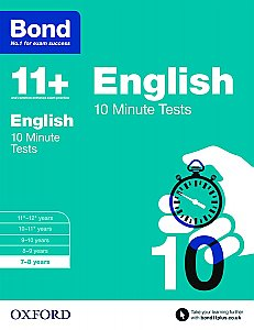 Bond 11+ 10 Minute Tests English 7-8 Years