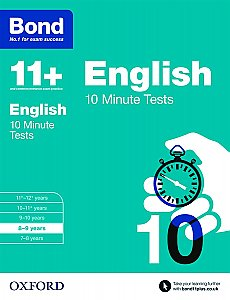 Bond 11+ 10 Minute Tests English 8-9 Years