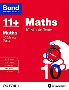 Bond 11+ 10 Minute Tests Maths 8-9 Years