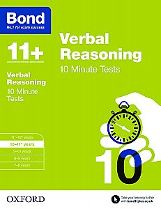 Bond 11+ 10 Minute Tests Verbal Reasoning 10-11+ Years