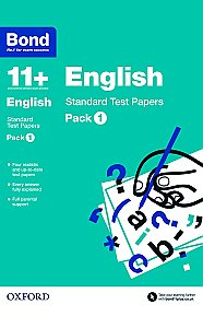 Bond 11+ English Standard Test Papers Pack 1