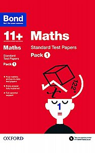 Bond 11+ Maths Standard Test Papers Pack 1