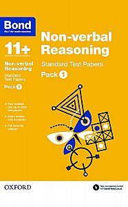 Bond 11+ Non-verbal Reasoning Standard Test Papers Pack 1