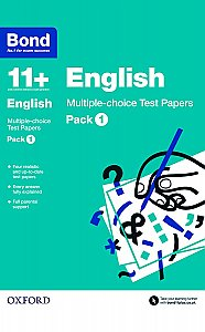 Bond 11+ English Multi Test Papers Pack 1