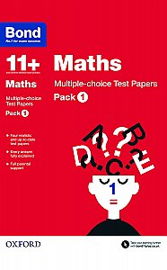 Bond 11+ Maths Multi Test Papers Pack 1