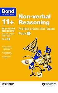 Bond 11+ Non-verbal Reasoning Multi Test Papers Pack 1