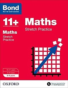 Bond - 11+ Maths: Stretch Papers: 8-9 Years