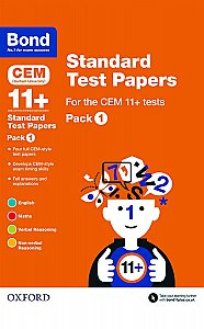 Bond 11+ Cem Standard Test Papers Pack 1