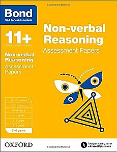 Bond Non-Verbal Reasoning Practice Activities 5-6 Years