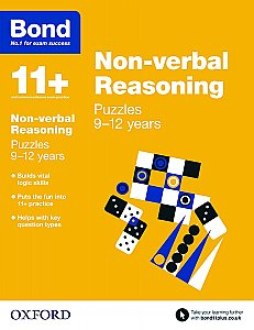 Bond 11+ Non-verbal Reasoning Puzzles 9-12 Years