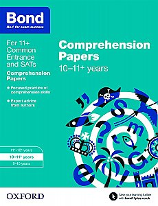 Bond Comprehension Papers 10-11+ Years
