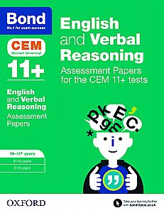 Bond 11+ Cem English & Verbal Reasoning Assessment Papers: 10-11+ Years