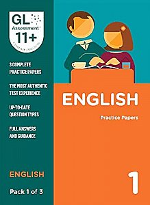GL Assessment 11+ Practice Papers English Pack 1 (Multiple Choice)
