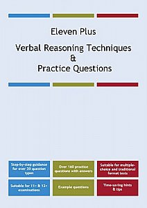 AFN Publishing - Eleven Plus Verbal Reasoning Techniques and Practice Questions