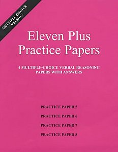 AFN Publishing - Eleven Plus Practice Papers Verbal Reasoning Papers 5-8, Multiple Choice