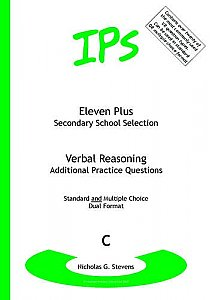 IPS 11 plus Verbal Reasoning - Additional Practice Questions