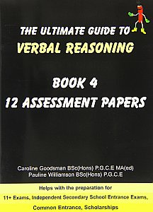 Dynamite Educational Publishers -  Ultimate Guide To Verbal Reasoning 4 - Assessment Papers (x12)