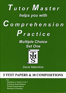 Tutor Master helps you with Comprehension Practice - Multiple Choice Set 1