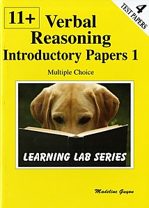 PHI - Learning Lab Series 11+ Introductory Practice Papers: Verbal Reasoning Multiple Choice: Book 1