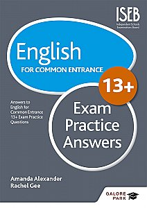 Galore Park - English for Common Entrance at 13+ Exam Practice Answers