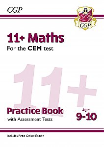 CGP - New 11+ CEM Maths Practice Book & Assessment Tests - Ages 9-10 (with Online Edition)