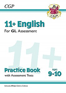 CGP - New 11+ GL English Practice Book & Assessment Tests - Ages 9-10 (with Online Edition)