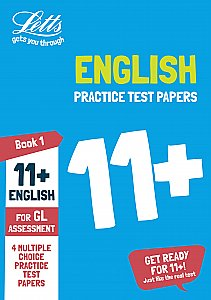 Letts 11+ Success - 11+ English Practice Test Papers - Multiple-Choice: for the GL Assessment Tests