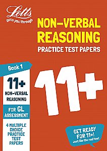 Letts 11+ Success - 11+ Non-Verbal Reasoning Practice Test Papers - Multiple-Choice: for the GL Assessment Tests Book 1