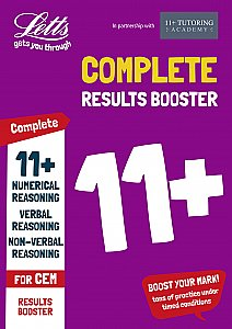 Letts 11+ Success - 11+ Results Booster: For the CEM Tests