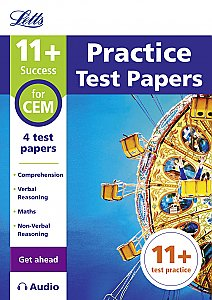Letts - 11+ Practice Test Papers (Get Ahead) For The Cem Tests Inc. Audio Download