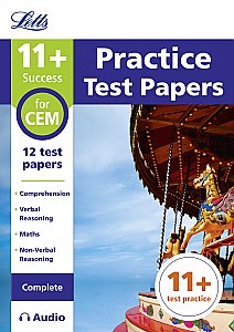 Letts - 11+ Practice Test Papers For The Cem Tests (Complete) Inc. Audio Download