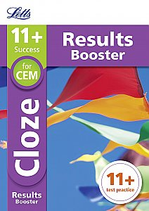 Letts 11+ Success - 11+ Cloze Results Booster for the CEM tests: Targeted Practice Workbook