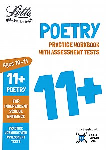 Letts - 11+ Poetry - Practice Workbook With Assessment Tests: For Independent School Entrance