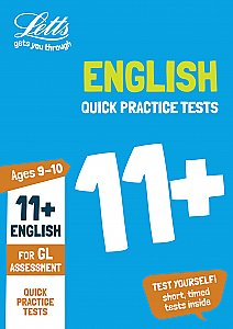 Letts - 11+ English Quick Practice Tests Age 9-10 For The Gl Assessment Tests