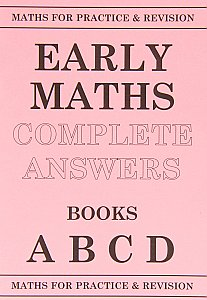 Peter Robson Early Maths Answer Book A-D