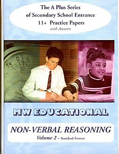 MW Educational 11 plus Non-Verbal Reasoning Practice Papers A plus Series Vol 2, Standard