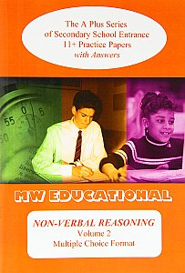 MW Educational 11 plus Non-Verbal Reasoning Practice Papers A plus Series Vol 2, Multiple Choice