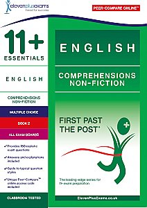 11+ Essentials - Comprehensions Non-Fiction Book 2 (First Past the Post®)